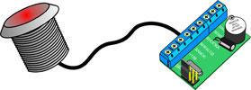 Подключение считывателя для СКУД CP-Z-2L к автономному контроллеру