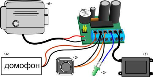 Подключение автономного контроллера СКУД Z-396 timer
